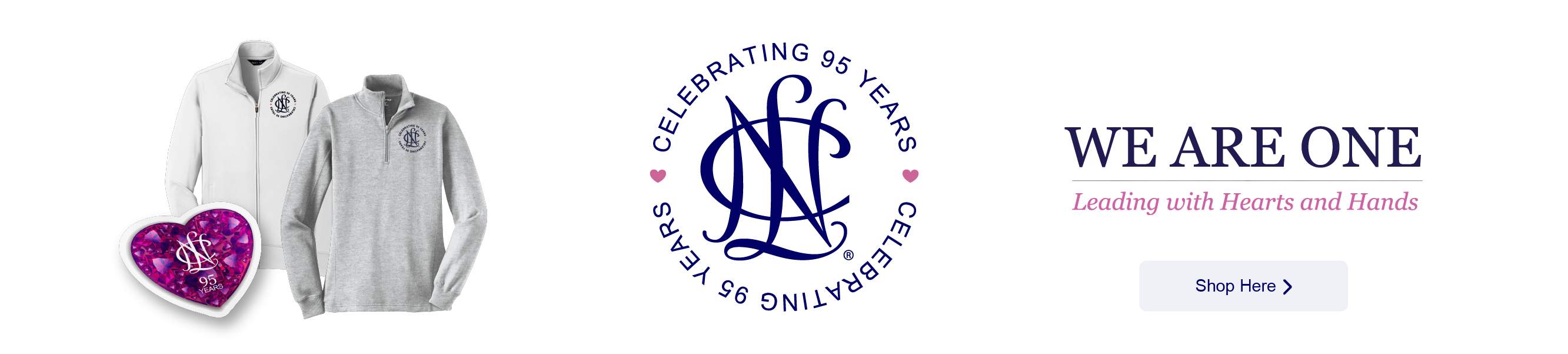 Shop the NCL 95th Anniversary Collection